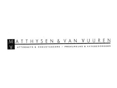 Matthysen & Van Vuuren